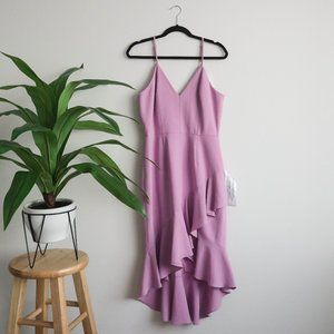 Dress the Population - Wendy Ruffle Cocktail Dress